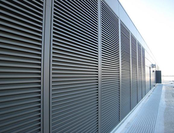 Cadiesa puertas industriales for Puerta tipo louver